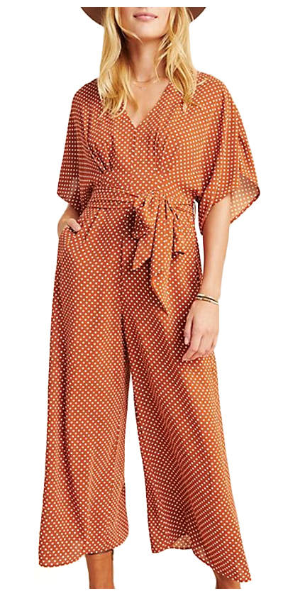 Anthropologie Catania Jumpsuit.