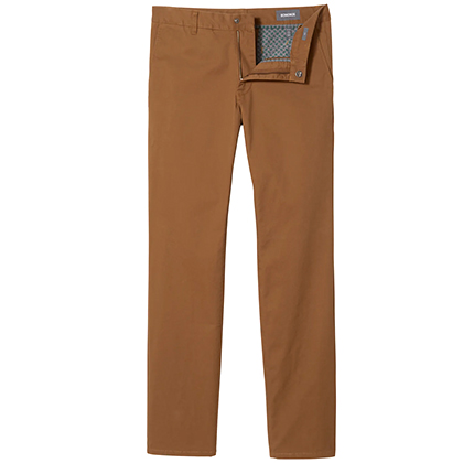 Bonobos Stretch Washed Chinos in Chestnut.