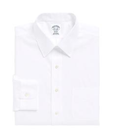 Regent Fitted Dress Shirt, Non-Iron Point Collar.