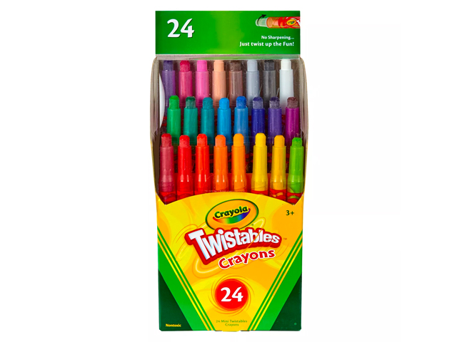 Crayola Twistable Crayons Mini 24ct.
