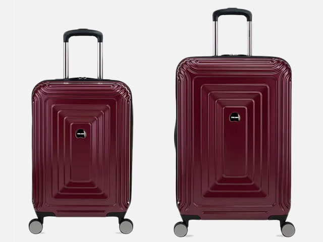 Delsey Reflection 2-Piece Luggage Set.