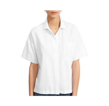 The Cotton Short-Sleeve Popover Shirt.