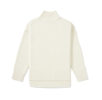 The ReCashmere Stroopwafel Turtleneck.