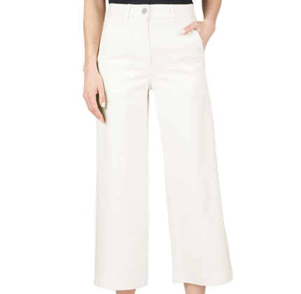 Everlane The Wide Leg Crop Pant.