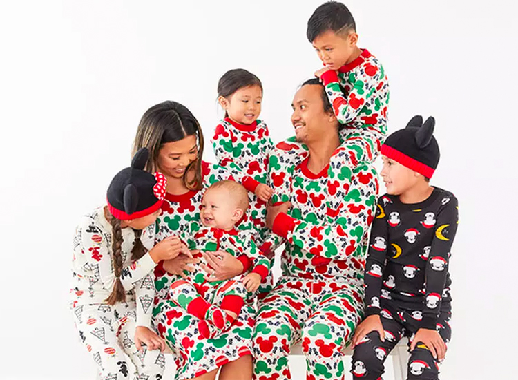 Disney Mickey Mouse Collection Family Matching Pajamas.