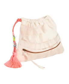Free People Tie Dye Practical Pouch.