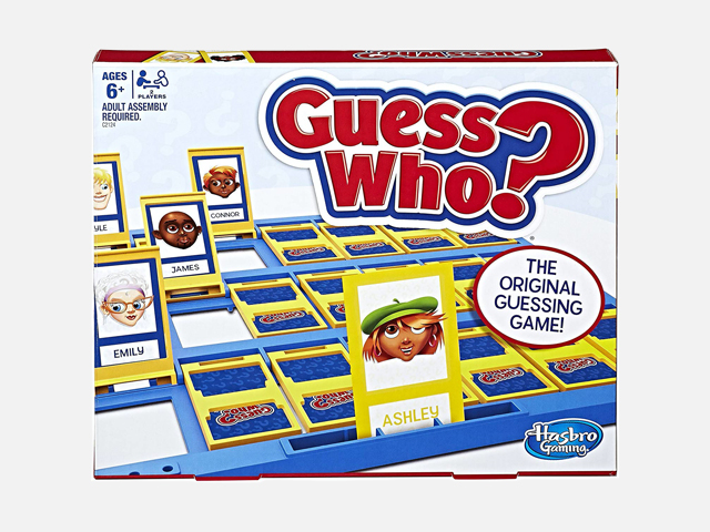 Hasbro Guess Who Classic Game.