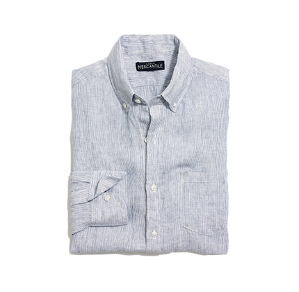 J.Crew Factory Slim linen shirt.