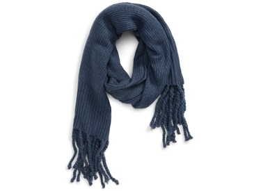 Jaden Rib Knit Blanket Scarf FREE PEOPLE.