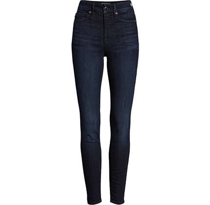 Good Legs High Waist Skinny Jeans by Good American