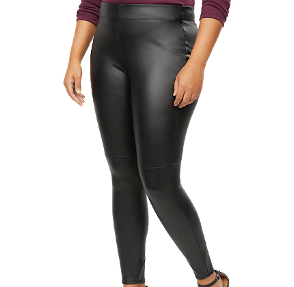Lane Bryant Faux Leather Legging.