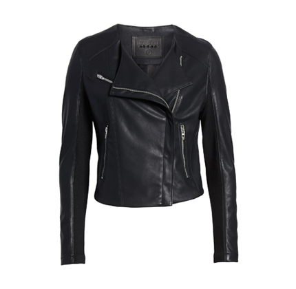 Leather Moto Jacket BLANKNYC.