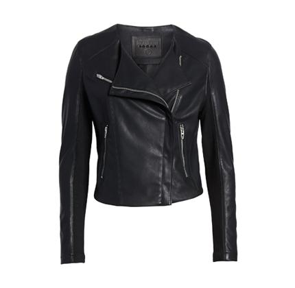 Leather Moto Jacket BLANKNYC.