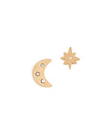 Madewell Celestial Stud Earrings.