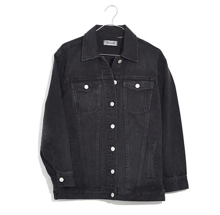 Madewell Oversized Jean Jacket.