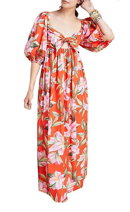 Mara Hoffman Violet Dress.