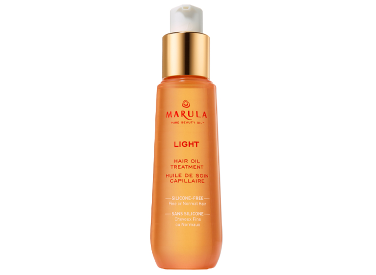 Marula Lightweight Hair Oil Treatment & Styling Oil.