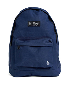 Original Penguin backpack in navy.