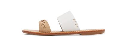 Soludos Braided Slide Sandals.