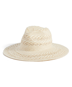 Straw Panama Hat RACHEL PARCELL.