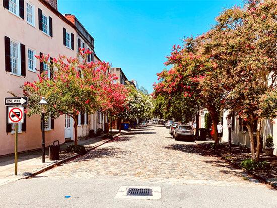 Street View of Charleston.