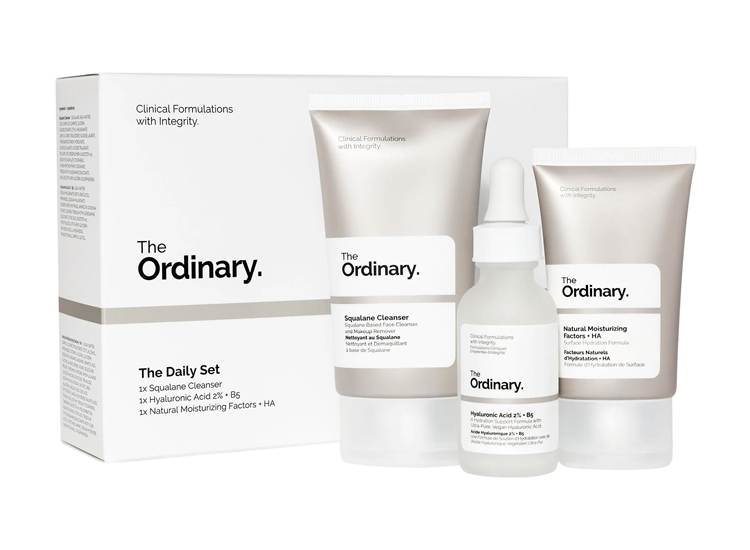 The Ordinary The Daily Set.