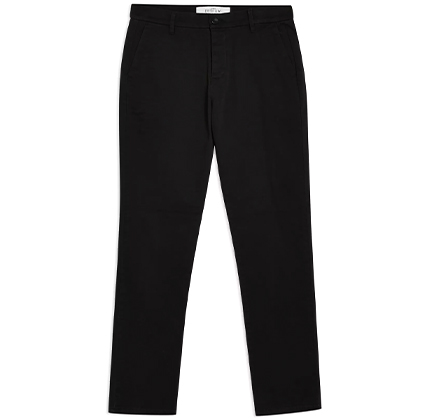 Topman Black Slim Chinos.