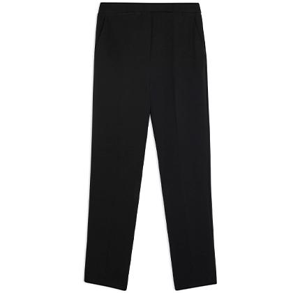 Black Short Cigarette Trousers.