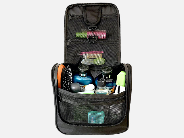 WAYFARER SUPPLY Hanging Toiletry Bag.