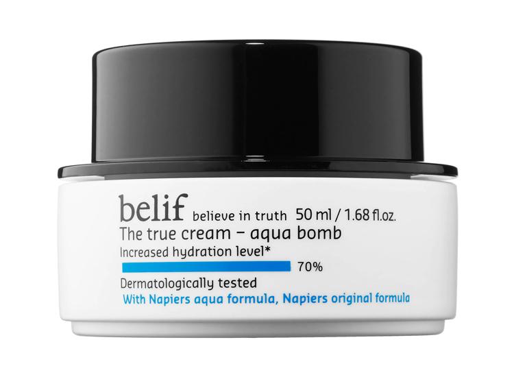 belif The True Cream Aqua Bomb.