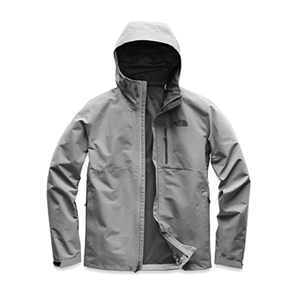 the north face men's dryzzle jacket.