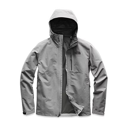 the north face men's dryzzle jacket.