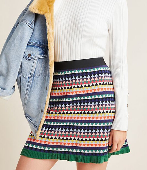 Anthropologie Paloma Sweater Skirt.