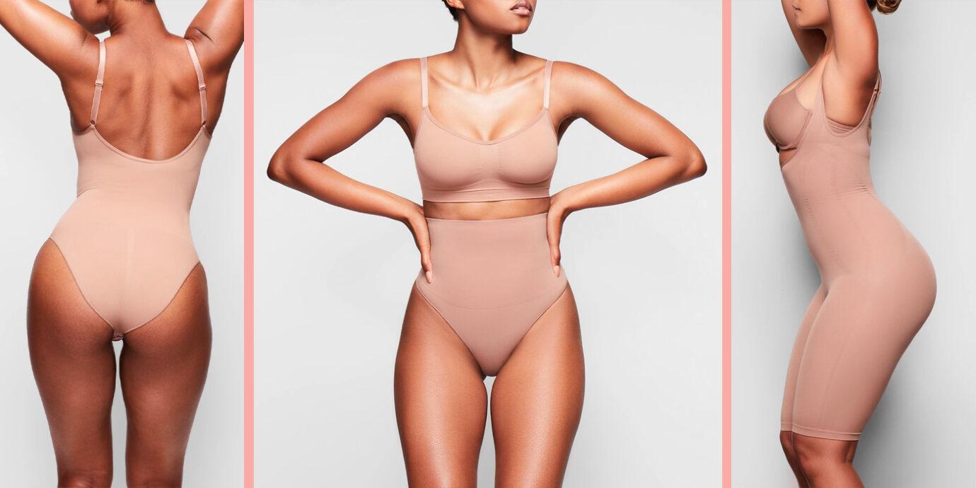 DODOING Open Bust Body Shaper Shapewear Top Seamless Firm Control Tank for Women