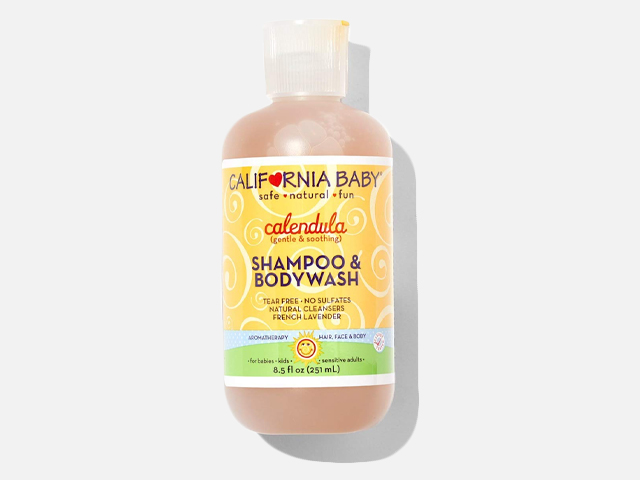 California Baby Calendula Shampoo and Body Wash.
