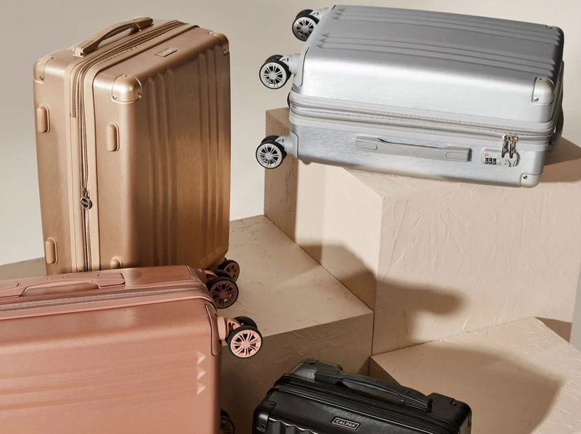 Calpak Ambeur Carry-On Luggage Collection.