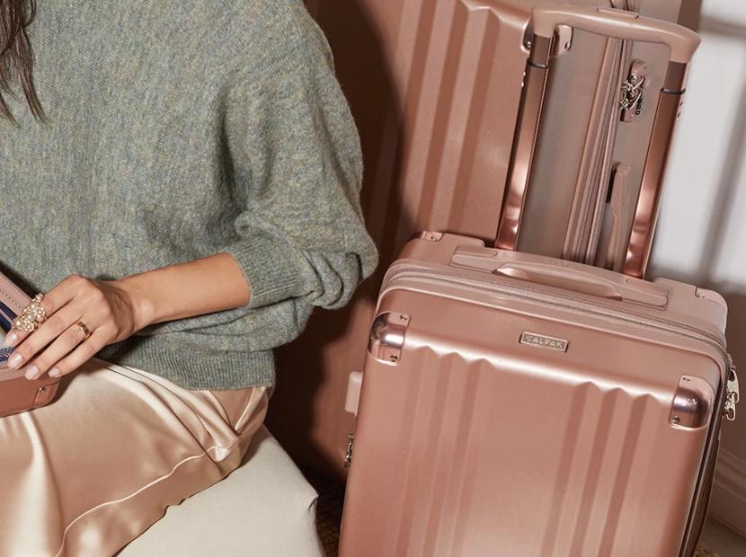 Calpak Ambeur Luggage Collection.