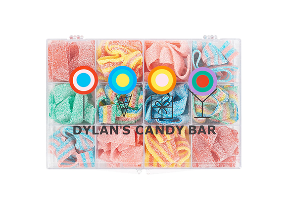Sour Belts Tackle Box DYLAN'S CANDY BAR