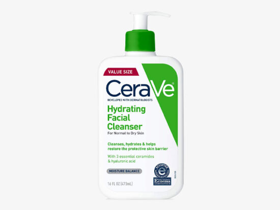 CeraVe Hydrating Face Wash.
