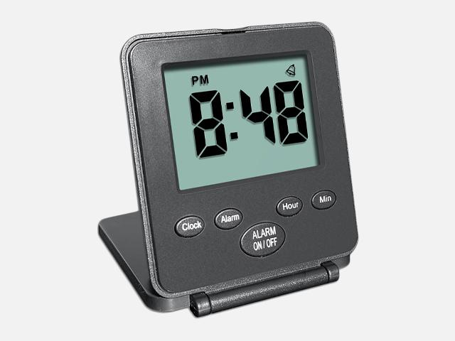 Digital Travel Alarm Clock.