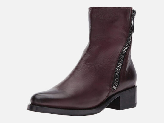FRYE Women's Demi Zip Bootie Boot.