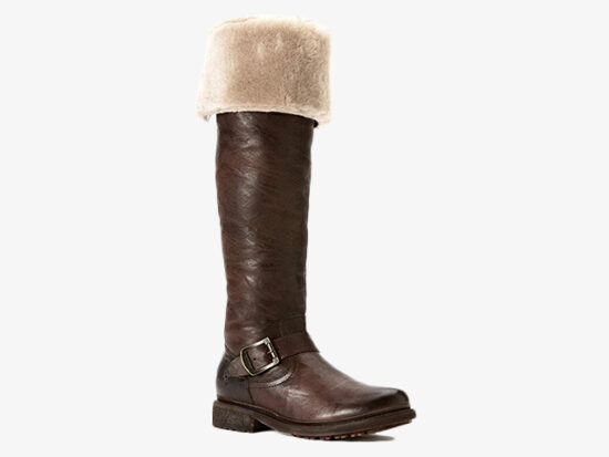 FRYE Women's Valerie Shearling Over-The-Knee Riding Boot.