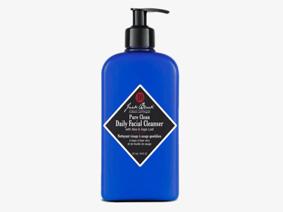 Jack Black Facial Wash.