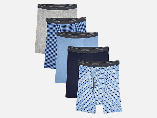 Fruit of the Loom Men's Coolzone Boxer Briefs.