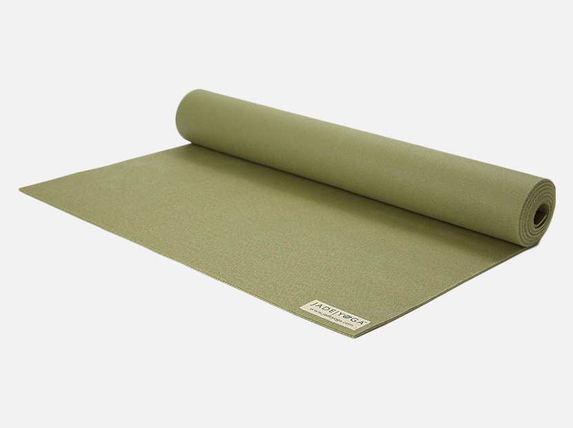 Jade Travel Yoga Mat.