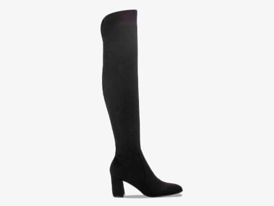 LULEY WIDE CALF OVER THE KNEE BOOT.