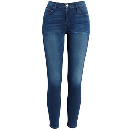 Le Skinny de Jeanne Crop Jeans FRAME.