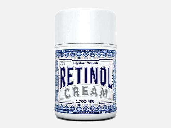 LilyAna Naturals Retinol Cream Moisturizer 1.7 Oz.