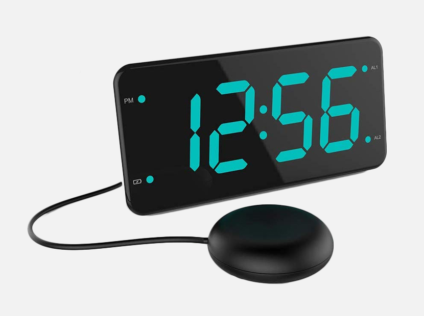 Loud Alarm Clock with Bed Shaker.