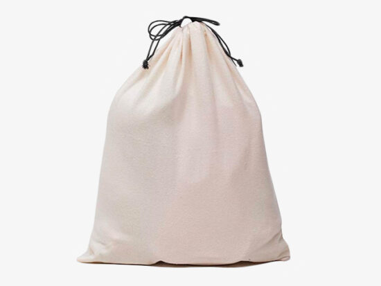 MISSLO Set of 3 Cotton Breathable Dust-Proof Drawstring Storage Pouch.